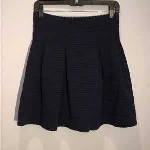 H&M | flare skirt navy